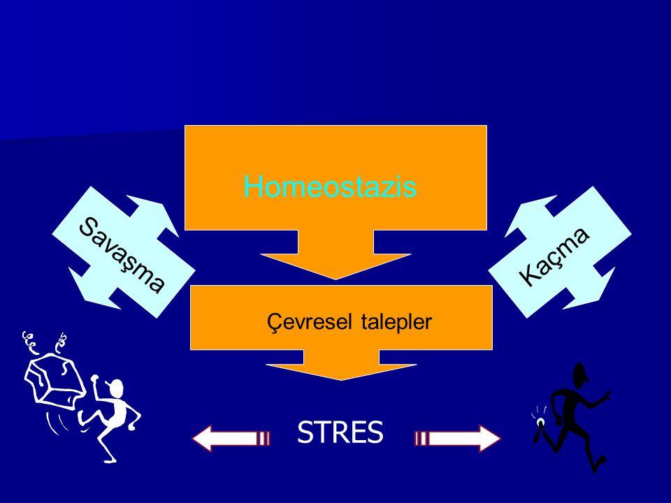 Selye'nin uyum kuramı Normal düzeyde direnç Stres yaratan olaya tepki Alarm Direnme Tükenme