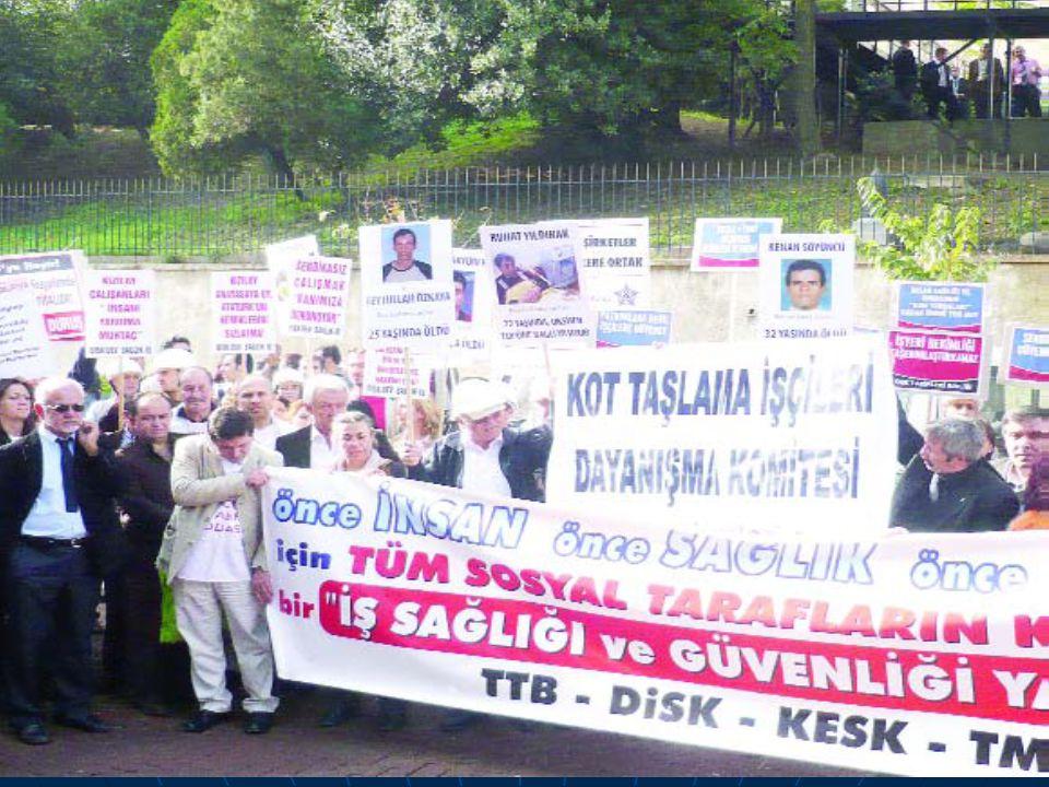 İZMİR 11 Nisan 2009 : TTB İSİH KOLU - İZMİR TABİP ODASI - BÜRO EMEKÇİLERİ SENDİKASI (BES) İZMİR ŞUBESİ - TMMOB MAKİNE MÜHENDİSLERİ ODASI KOCAELİ ŞUBESİ