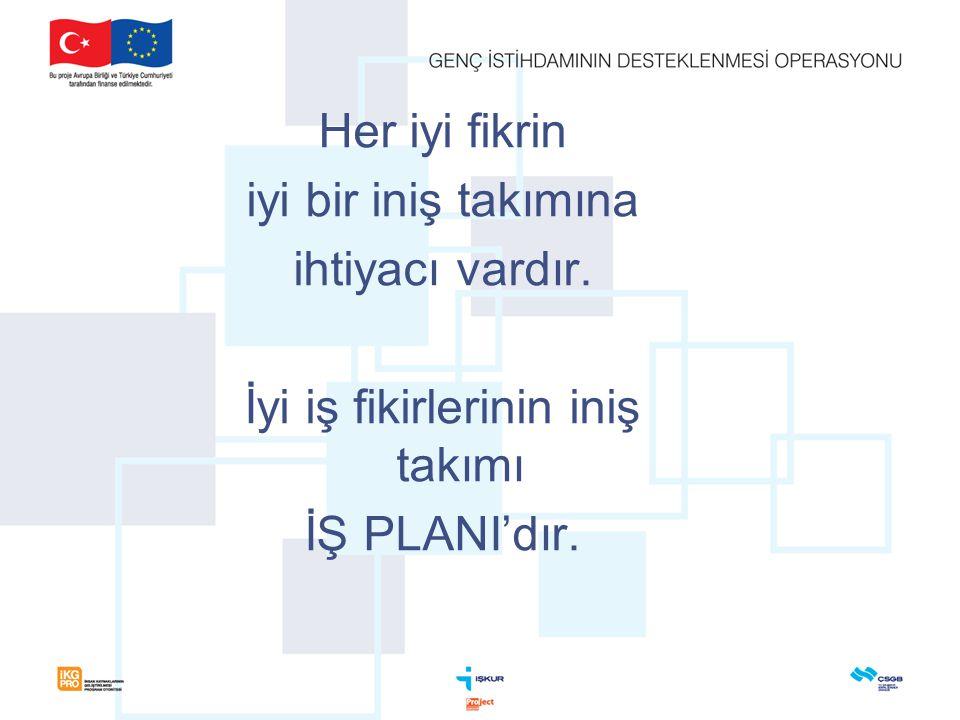 İş Planı Nedir.Bu planda, işletmenin tüm unsurlarını tanımlanması gerekmektedir.