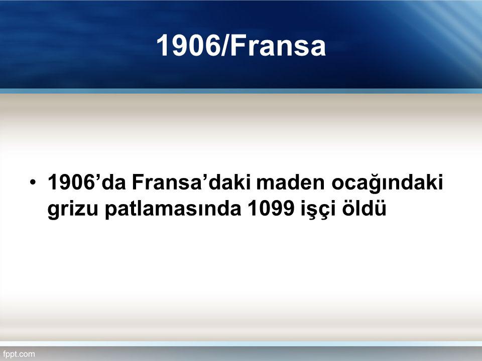 Osmanlı Nizamnameleri 1861, 1867, 1868, 1887 ve 1906'da madenlerle ilgili nizamnameler (tüzükler) yayınlandı, Tüzüklerdeki temel amaç işçileri korumak değil, üretimi artırmakla ilgili, 1861 tarihli nizamnamede 54 madde vardı, ancak işçilerle ilgili ödenmeyen ücretler, meslek hastalıkları ve iş kazalarına ilişkin hükümler yoktu, 1867 tarihli Dilaver Paşa Nizamnamesi'nde Ereğli ve civarında 13-50 yaş grubundaki sağlıklı erkeklerin tamamı iki grup halinde her ayın 12 günü zorunlu olarak madene inmek zorundaydı, Bu uygulama 50 yıl devam etti.