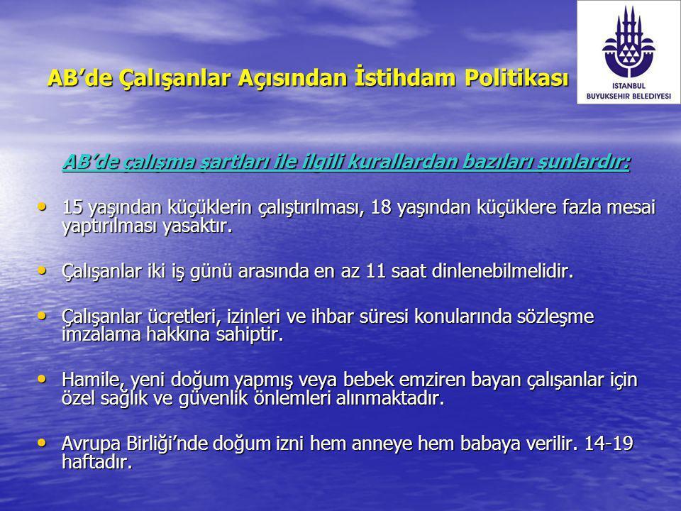 Kadın-erkek eşitliği alanında ; Türkiye'de toplumun geneli, kadının çalışmasına ve kadın emeğine ikincil ve yedek gözüyle bakmakta; işyerlerinde çalışanlar arasında kadın-erkek farkı gözetilmektedir.