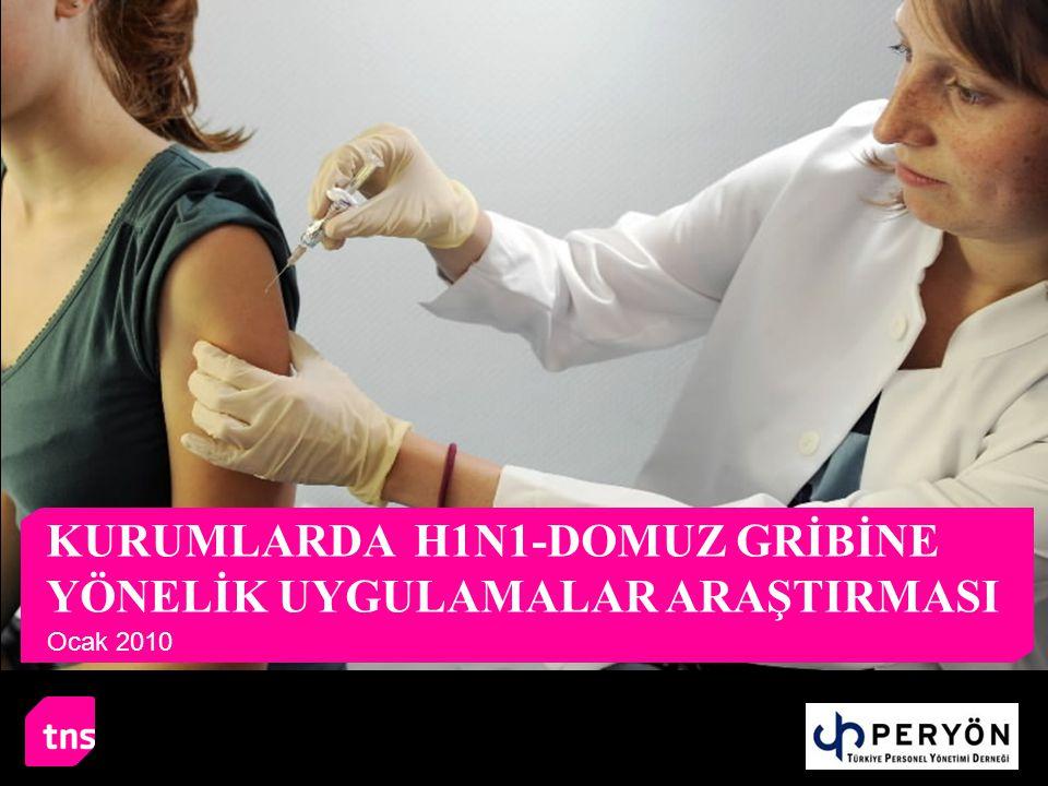 KURUMLARDA H1N1-DOMUZ GRİBİNE YÖNELİK UYGULAMALAR ARAŞTIRMASI Ocak 2010
