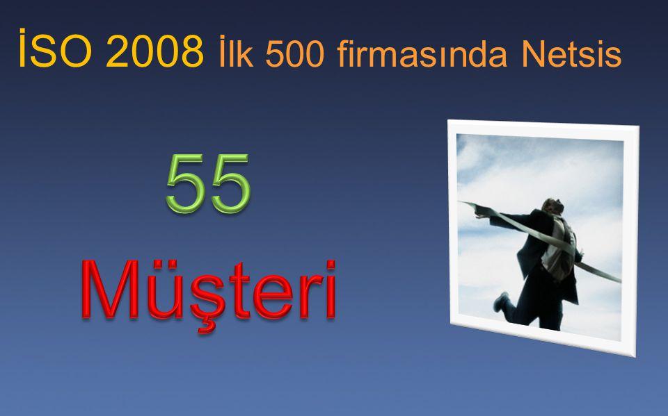 İSO 2008 İlk 500 firmasında Netsis