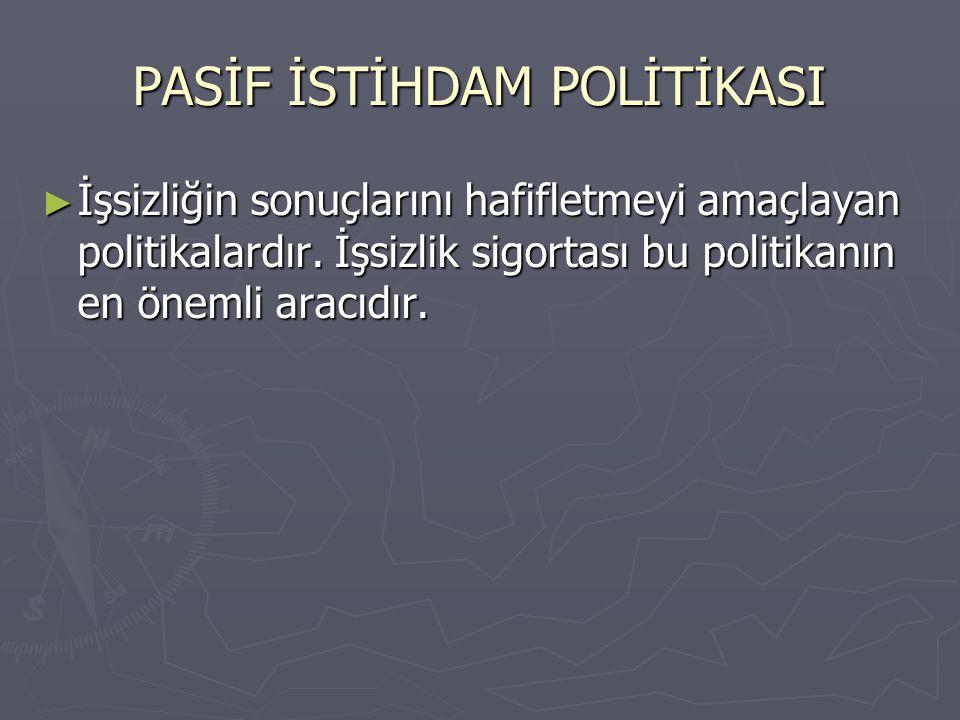 İŞSİZLİK SİGORTASININ POTANSİYEL FAYDALARI 2.