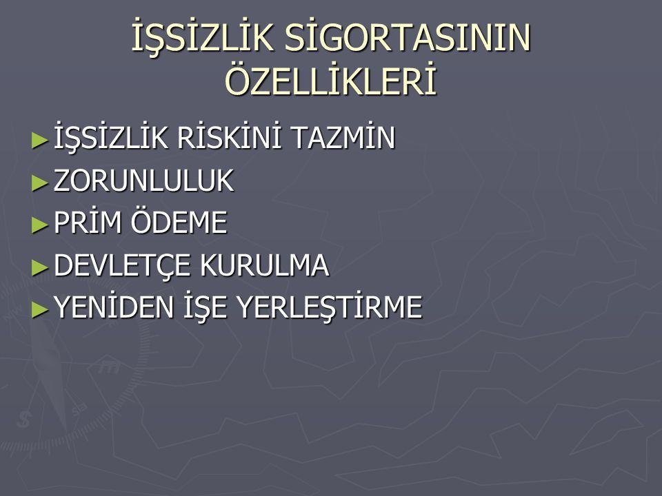 İŞSİZLİK SİGORTASININ POTANSİYEL FAYDALARI 6.
