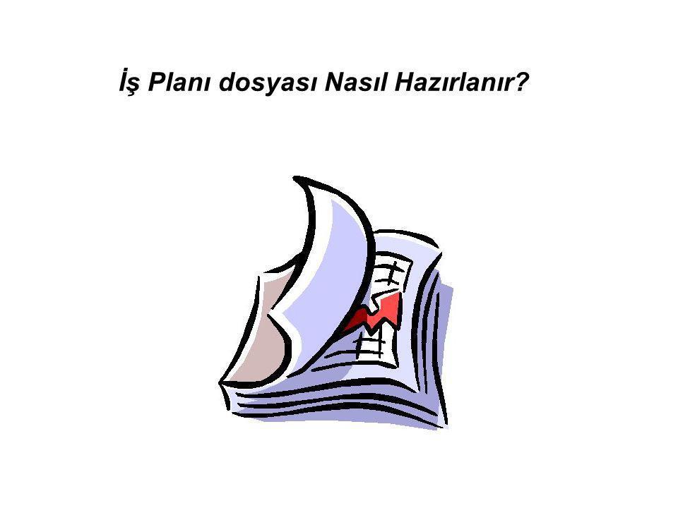 İş Planı dosyası Nasıl Hazırlanır?