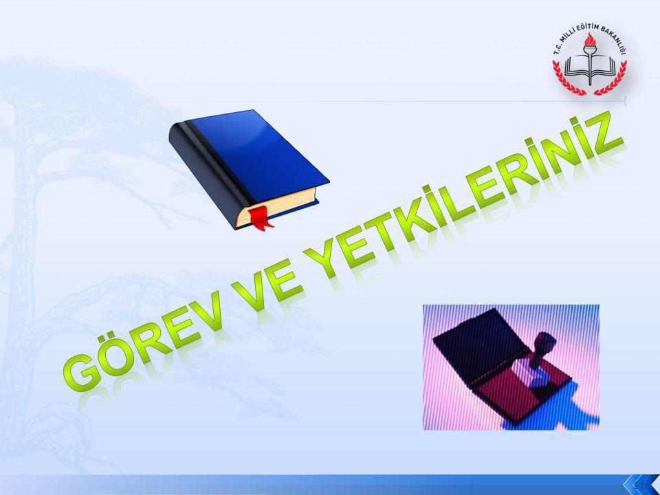 22 Türk Millî Eğitiminin Genel Amaçları ve Temel ilkeleri ile Atatürk İnkılâp ve İlkeleri doğrultusunda yetiştirmek üzere; okul yönetimi, öğretmenler, veliler ve ailelerle iş birliği yapmak.