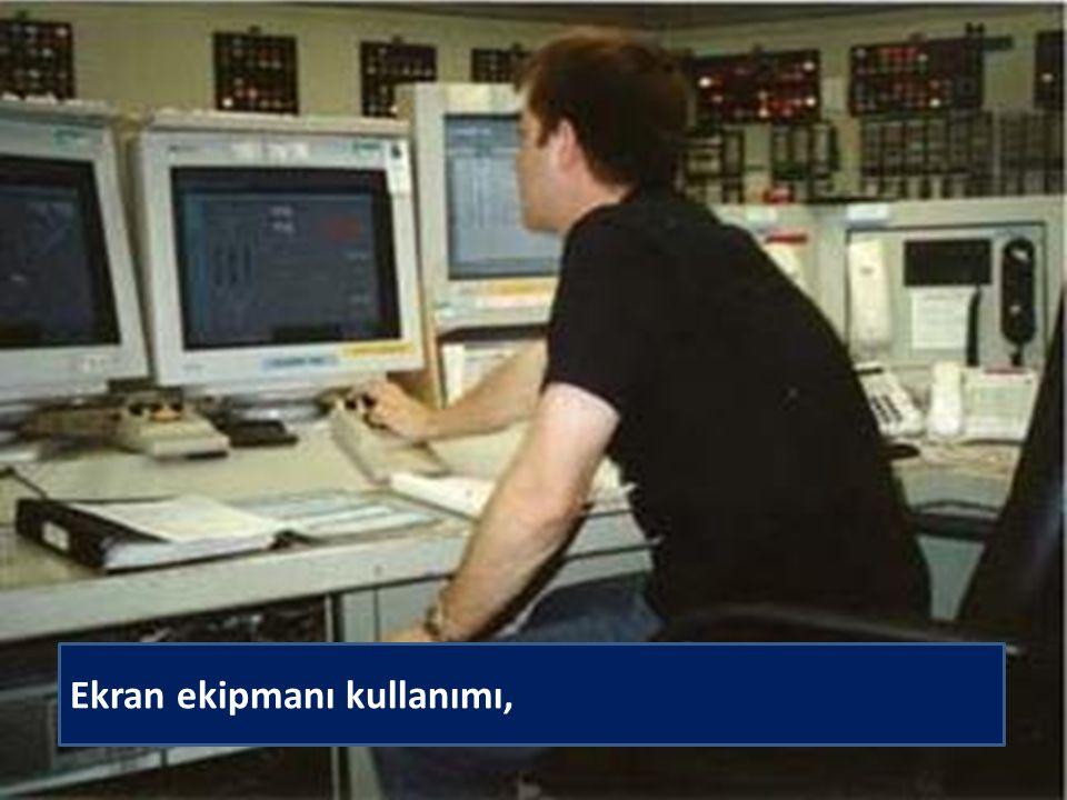 İSTANBUL ÜNİVERSİTESİ İŞ SAĞLIĞI VE GÜVENLİĞİ KOORDİNATÖRLÜĞÜ Ekran ekipmanı kullanımı,