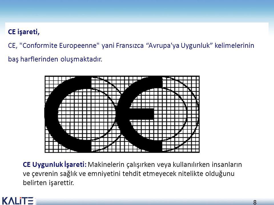 8 CE işareti, CE,