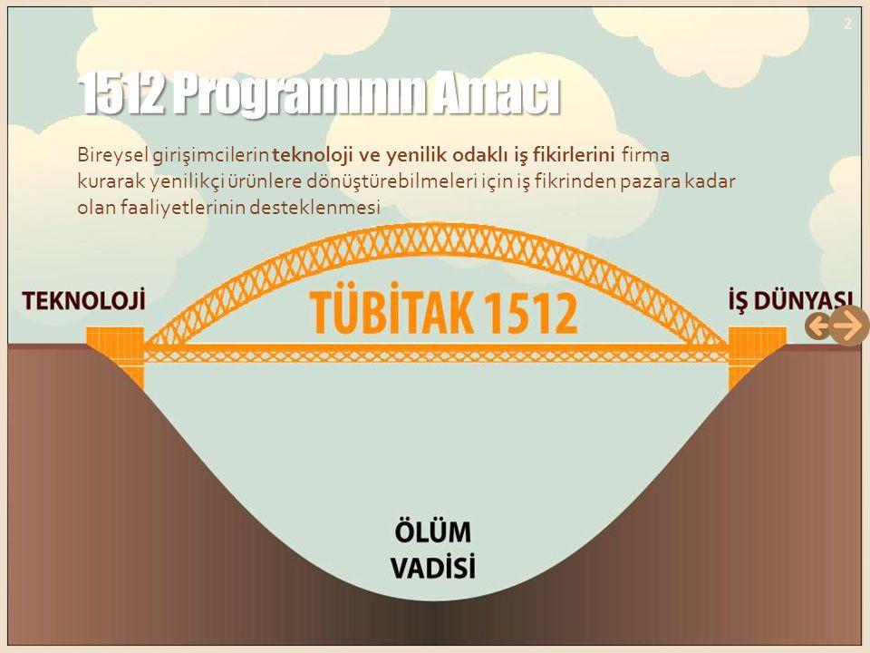 1512 Programı 1512 Programı Programın 2012 Çağrısı 13