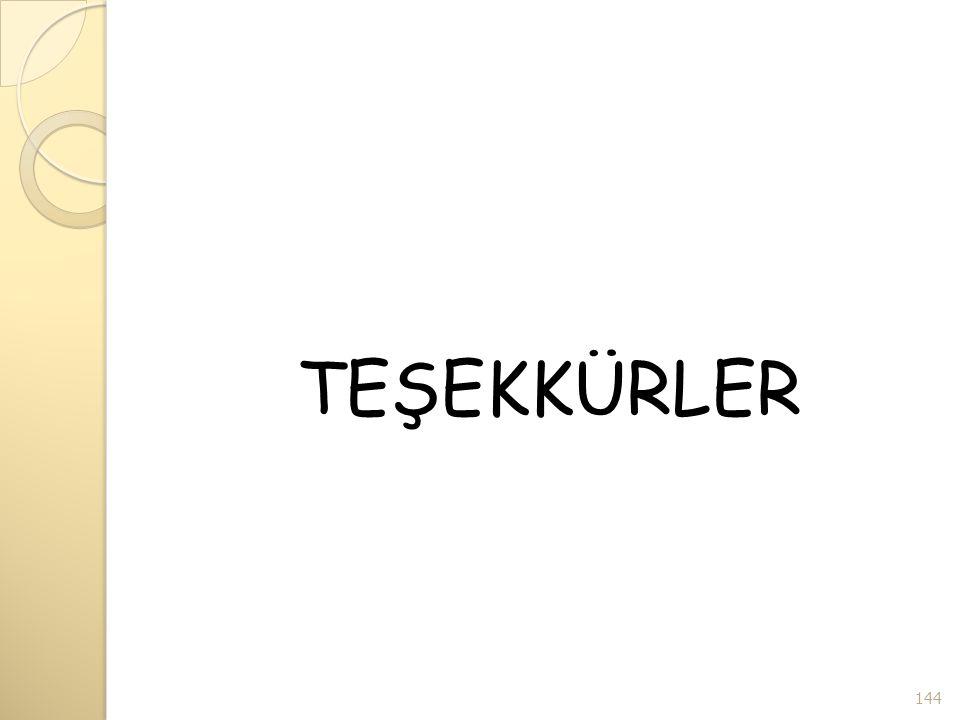 TEŞEKKÜRLER 144