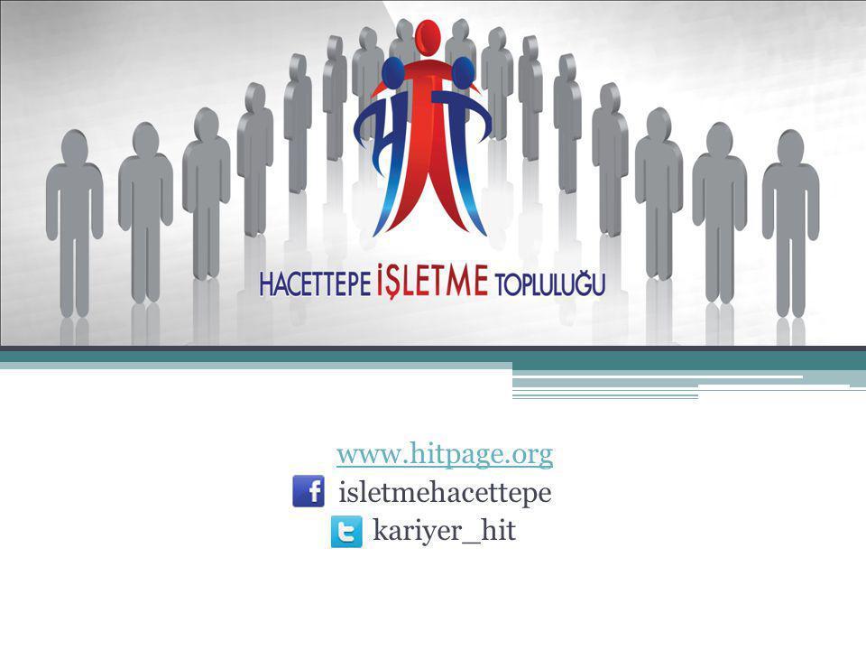 Hacettepe İşletme Topluluğu Hedef Kitlemiz Üyelerimiz Üye Olunan Platformlar İKTP İşletme Kulüpleri ve Toplulukları Platformu (Boğaziçi,Bilkent,Orta Doğu,Marmara Üniversiteleri) 3İK Türkiye İş ve Kariyer Kulüpler Birliği Biz Kimiz.