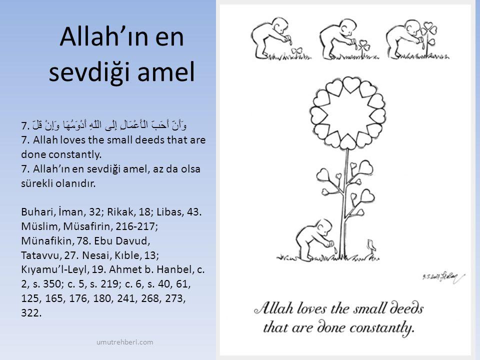 Müslüman, elinden ve dilinden 18.