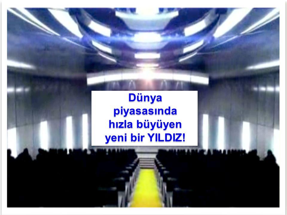Pre LAUNCH GERMANY 2012 2012 PRE LAUNCH Türkiye Dünya piyasasında hızla büyüyen yeni bir YILDIZ! Dünya piyasasında hızla büyüyen yeni bir YILDIZ!