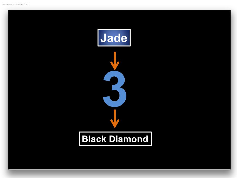 Pre LAUNCH GERMANY 2012 Jade 3 Black Diamond