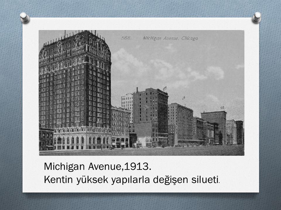 Chicago şehri, o zaman için kentleşme tarihi bakımından eşine az rastlanır içerikte ve süratte büyümüştür.