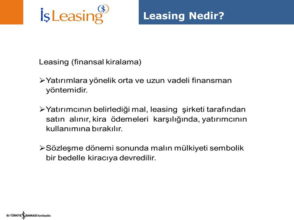 Neler lease edilebilir?