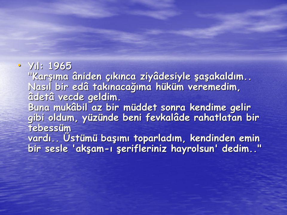 Yıl: 1965