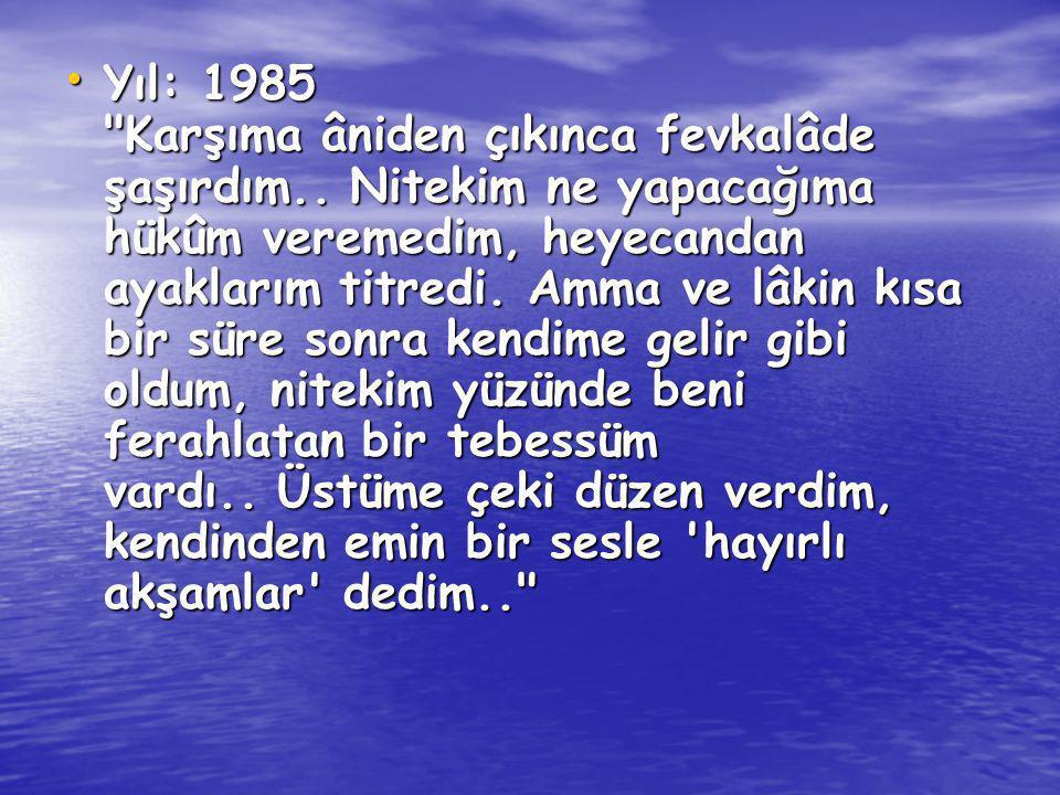 Yıl: 1985