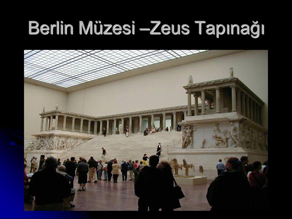 Berlin Müzesi –Zeus Tapınağı