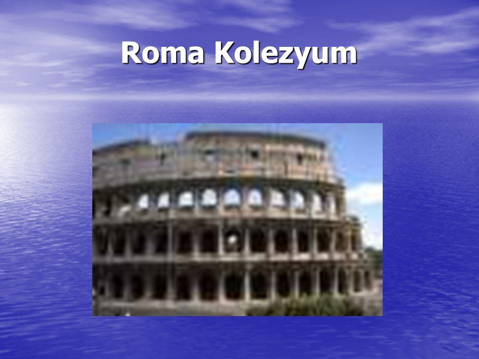 Roma Kolezyum Roma Kolezyum