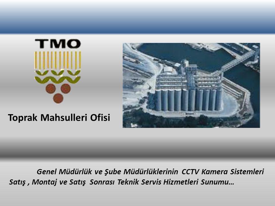 Toprak Mahsulleri Ofisi Genel Müdürlük ve Şube Müdürlüklerinin CCTV Kamera Sistemleri Satış, Montaj ve Satış Sonrası Teknik Servis Hizmetleri Sunumu…