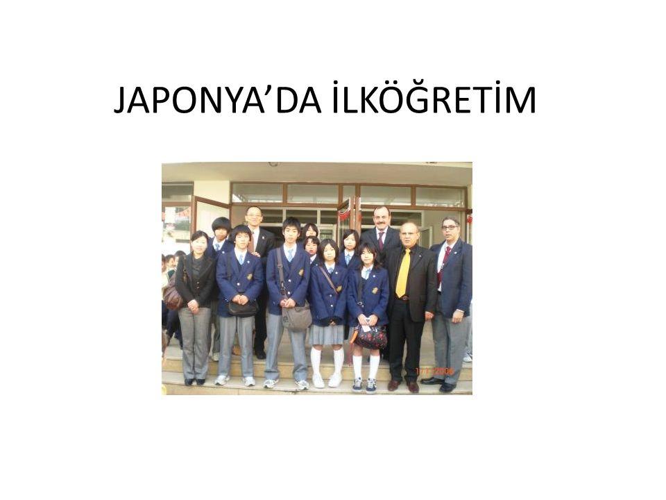 JAPONYA'DA İLKÖĞRETİM