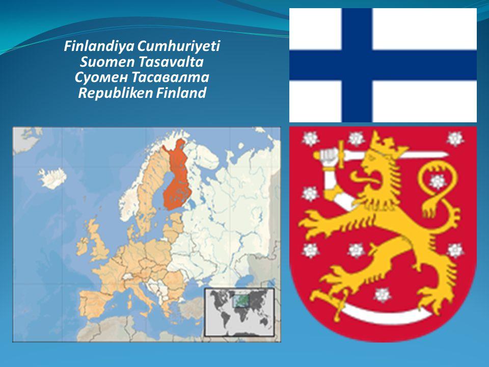 Finlandiya Cumhuriyeti Suomen Tasavalta Суомен Тасавалта Republiken Finland