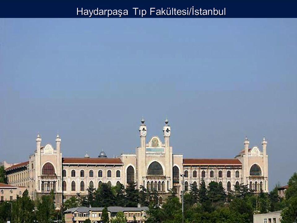 Haydarpaşa Tıp Fakültesi/İstanbul