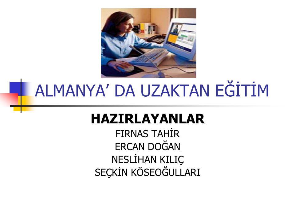 FERN-UNİVERSİTÄT İN HAGEN Gerekli durumlarda, Sosyal Bilimler, Matematik, Elektro Teknik, Hukuk, İkdisat, Bilişim (İnformatik) bölümlerinin sınavları, Avusturya daki gözlem merkezinde de yapılabilir.