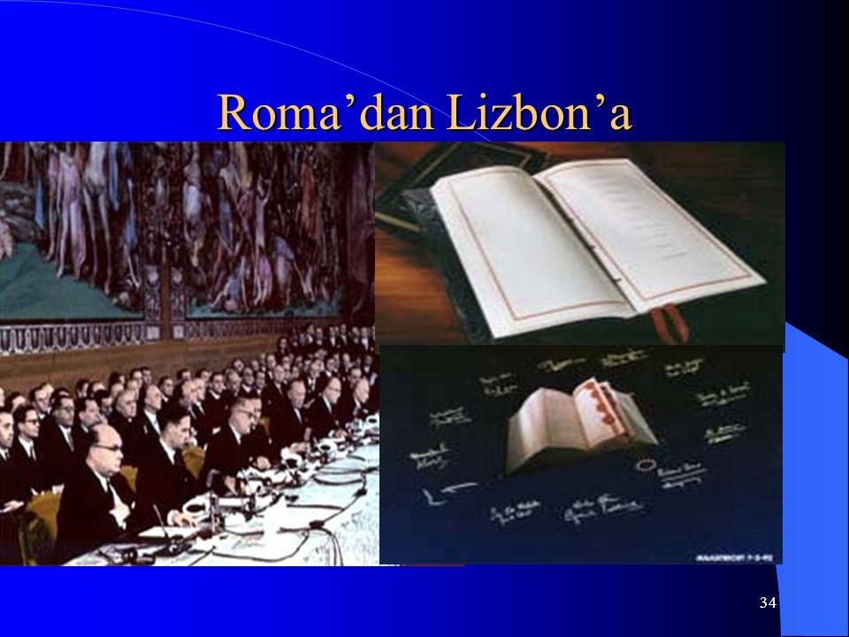 34 Roma'dan Lizbon'a