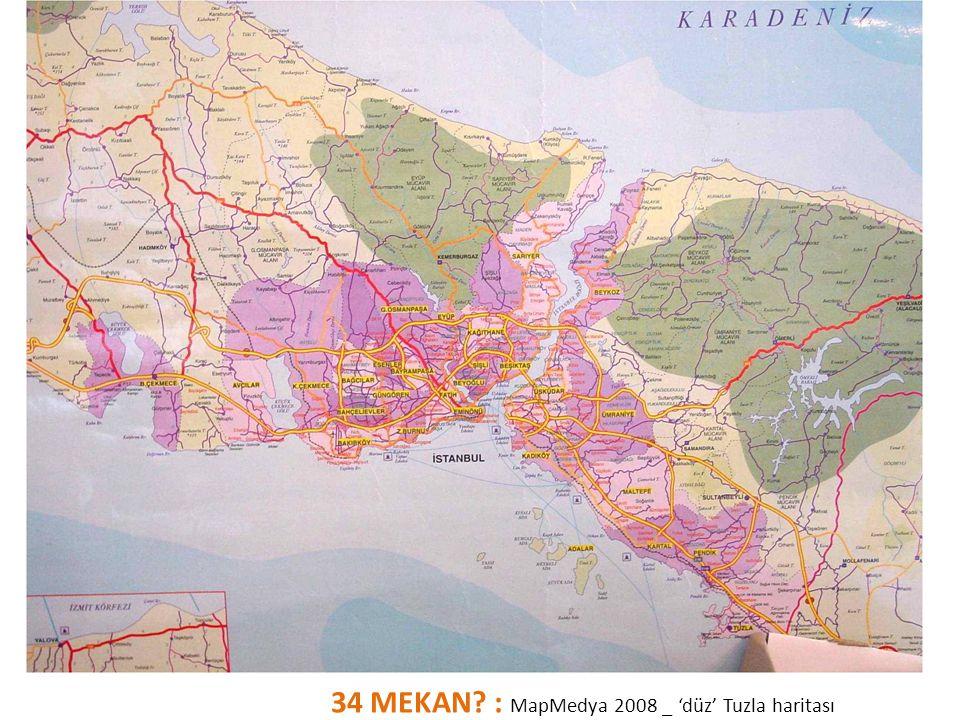 34 MEKAN? : MapMedya 2008 _ 'düz' Tuzla haritası