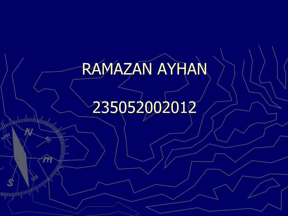 RAMAZAN AYHAN 235052002012