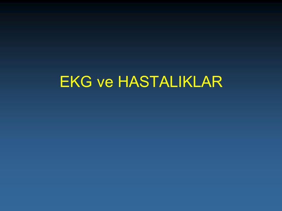 EKG ve HASTALIKLAR