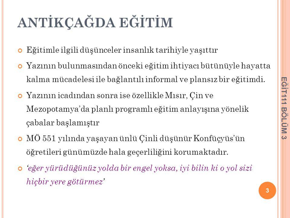 TANZİMAT VE EĞİTİM 1839 yılında Abdülmecit tarafından imzalanan Tanzimat fermanı ile Osmanlı İmparatorluğu'nda yeni bir dönem başlamıştır.