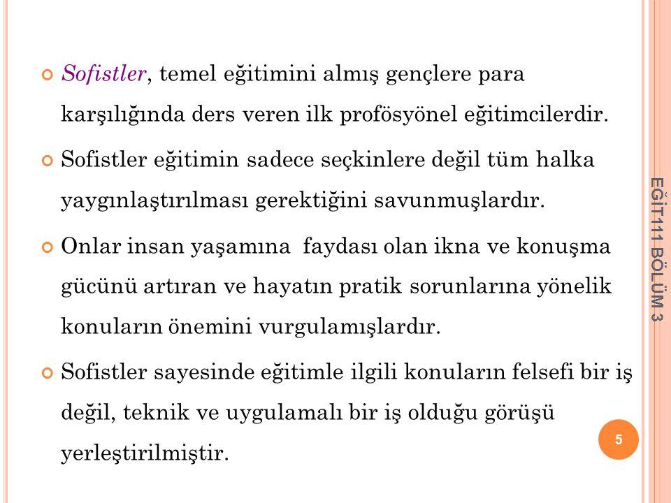 OSMANLI İMPARATORLUĞUNDA EĞİTİM 18.yüzyılda III. Selim ve II.