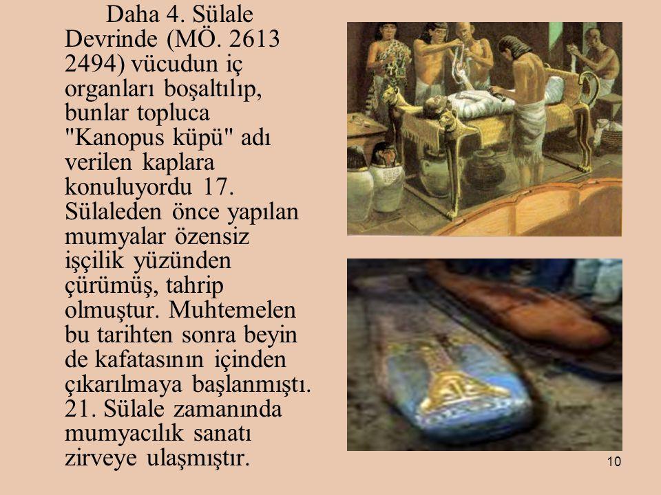 10 Daha 4.Sülale Devrinde (MÖ.