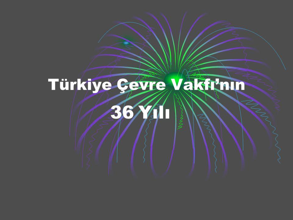 Türkiye Çevre Vakfı'nın 36 Yılı