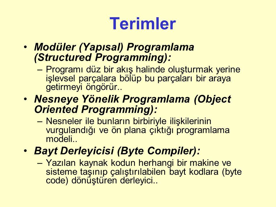 Örnek: package fatih.edu.ceng217; import java.util.*; import fatih.edu.ceng217.lecturenotes.*; import netscape.javascript.JSObject; import netscape.ja