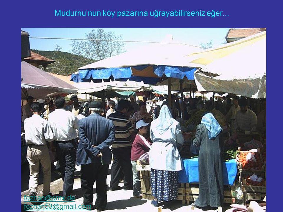 Eski Osmanlı Evleri yalnızca Safrabolu'da bulunmuyor... Mudurnu'nun köy pazarına uğrayabilirseniz eğer... fozhan@gmx.de fozhan53@gmail.com