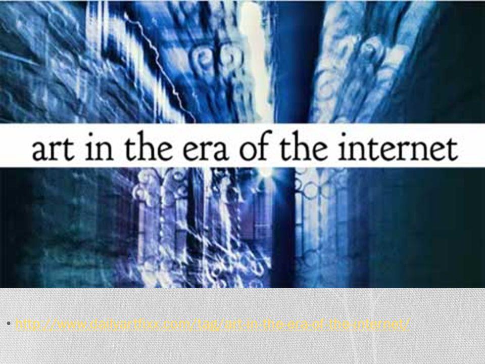 http://www.dailyartfixx.com/tag/art-in-the-era-of-the-internet/