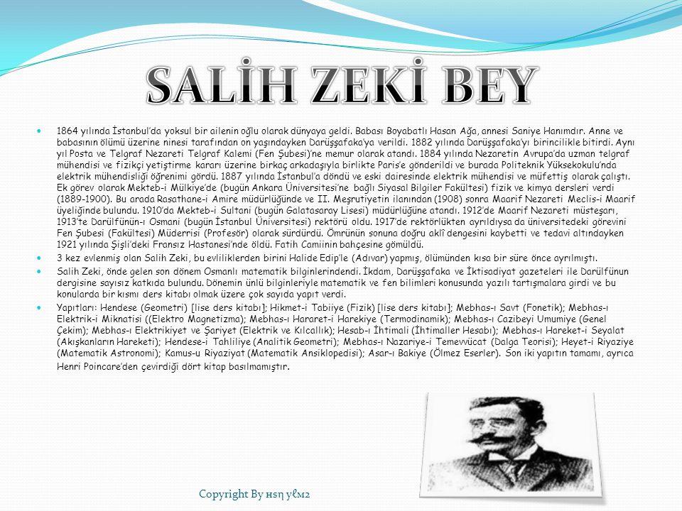 1864 yılında İstanbul'da yoksul bir ailenin oğlu olarak dünyaya geldi. Babası Boyabatlı Hasan Ağa, annesi Saniye Hanımdır. Anne ve babasının ölümü üze