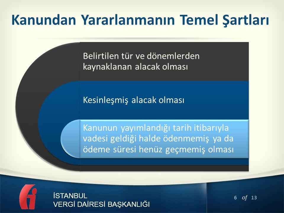 7 of 13 İSTANBUL VERGİ DAİRESİ BAŞKANLIĞI Beyanname Dönemleri İtibarıyla Dağılım Dönemi 15 günlük olanlar Vergilendirme Dönemi 01-15 Nisan 2014 tarihi arasında olanlar kapsama girmektedir.