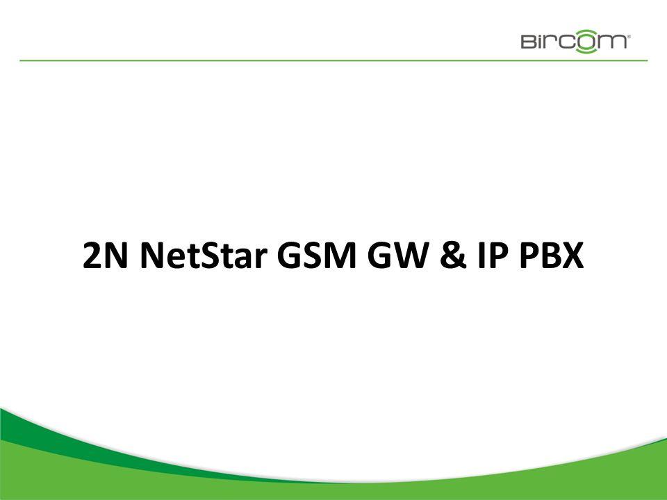 2N NetStar GSM GW & IP PBX