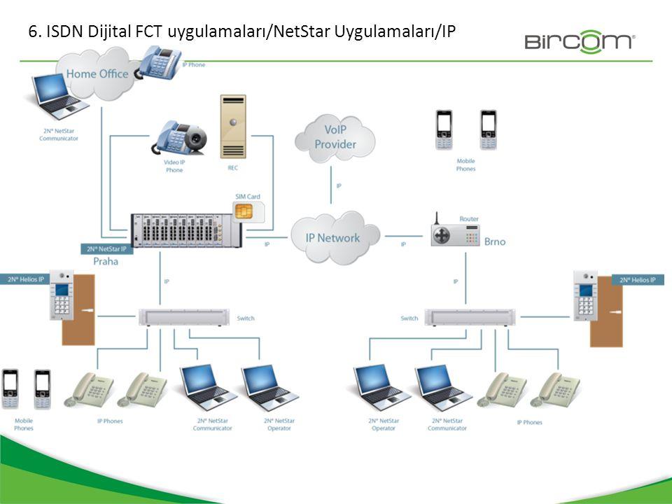 6. ISDN Dijital FCT uygulamaları/NetStar Uygulamaları/IP
