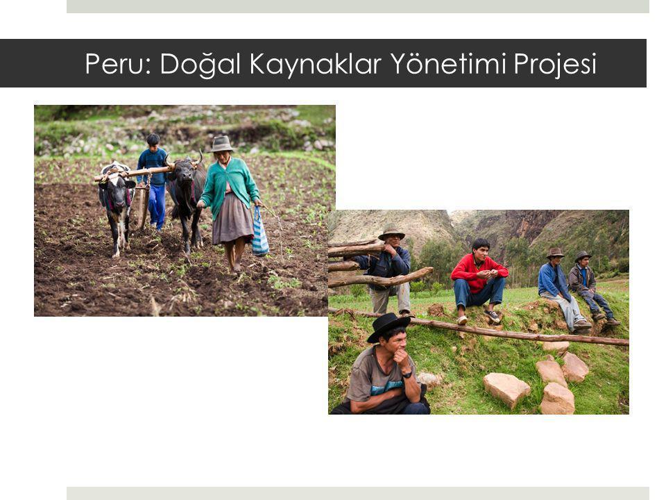 Peru: Doğal Kaynaklar Yönetimi Projesi