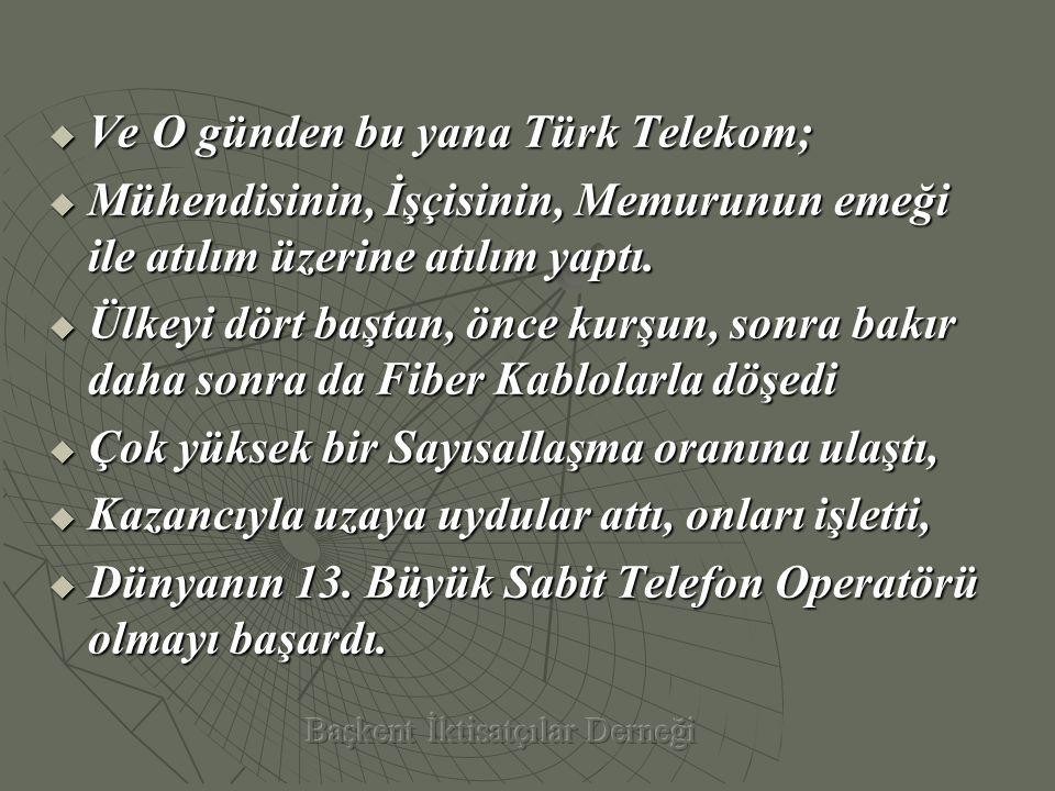 Türk Telekom'un Özelleştirilmesini Savunanlar, Yalanlara Sığınıyorlar.