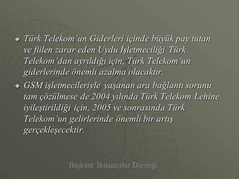  Türkiye'de Kurumlar Vergisi Oranı çok yüksek olduğu için, Telekom'u alan firma Kurumlar Vergisi ödememek için tüm yatırımlarını, gerekli teçhizatı yurtdışında vergi oranları düşük bir ülkede kuracağı bir şirket üzerinden alarak gerçekleştirecek, böylece kârını yurtdışına aktaracaktır.