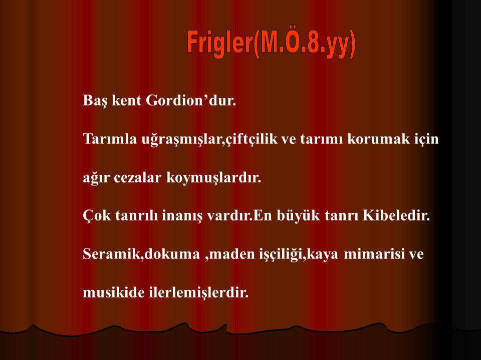 Anadulu'da kurulan ilk merkezi krallıktır.Baş kent Hattuşaş(Boğazköy)dır.