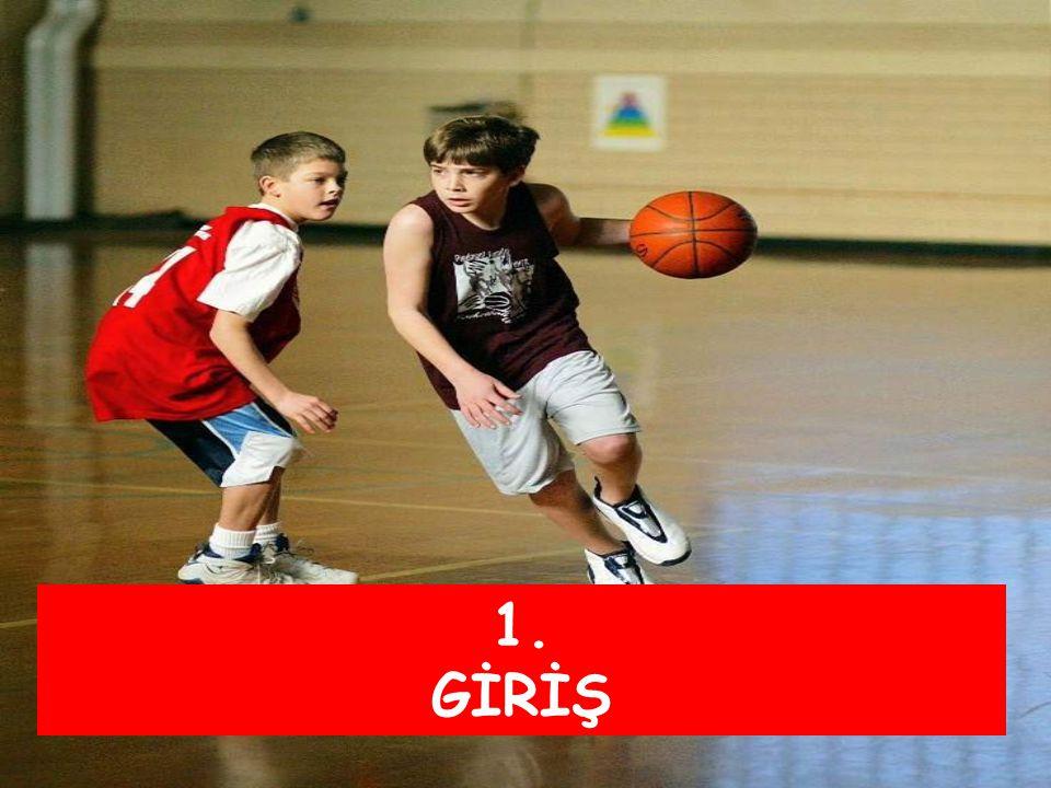 Mini Basketbol' da Bazı Temel Oyun Kuralları 1.Oyun her biri 8' er dakikalık 4 periyotta ayrılmıştır 2.İlk periyotta oynamayan oyuncular ikinci periyotta oyuna girerler.